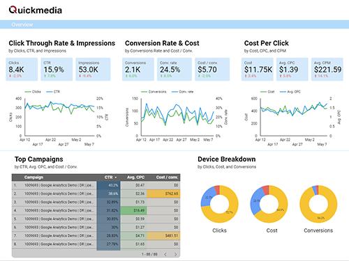 Quickmedia Data Studio